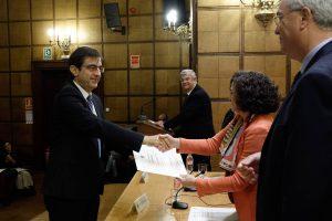 Entrega de Premios Extraordinarios de Doctorado. Foto: Ramón L. Pérez
